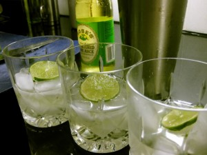 Just don't use vodka! Well, you can, but then it's a vodka gimlet...