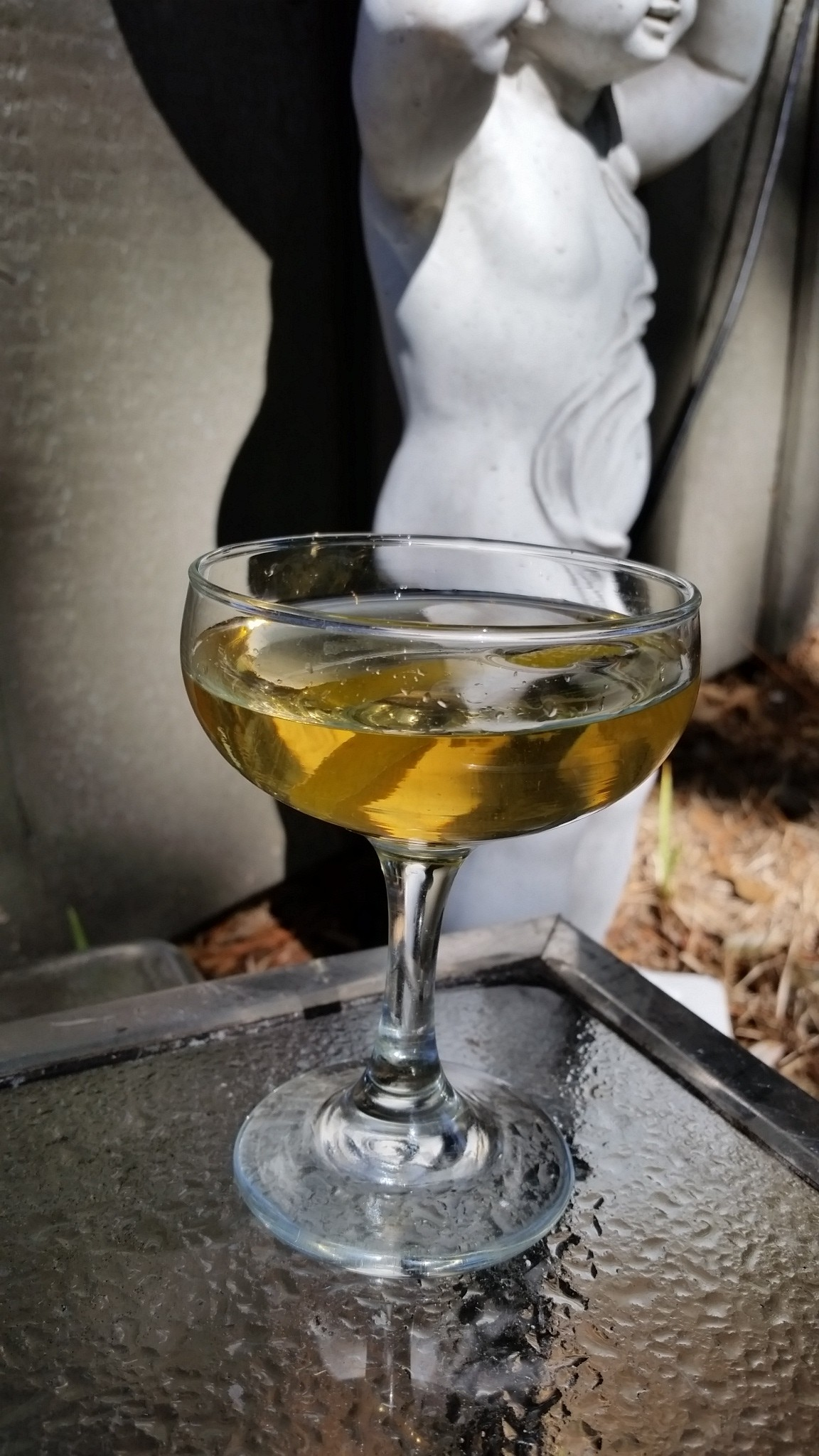 The .22 Caliber Cocktail: Scotch, Vodka, Nocello Walnut Liqueur