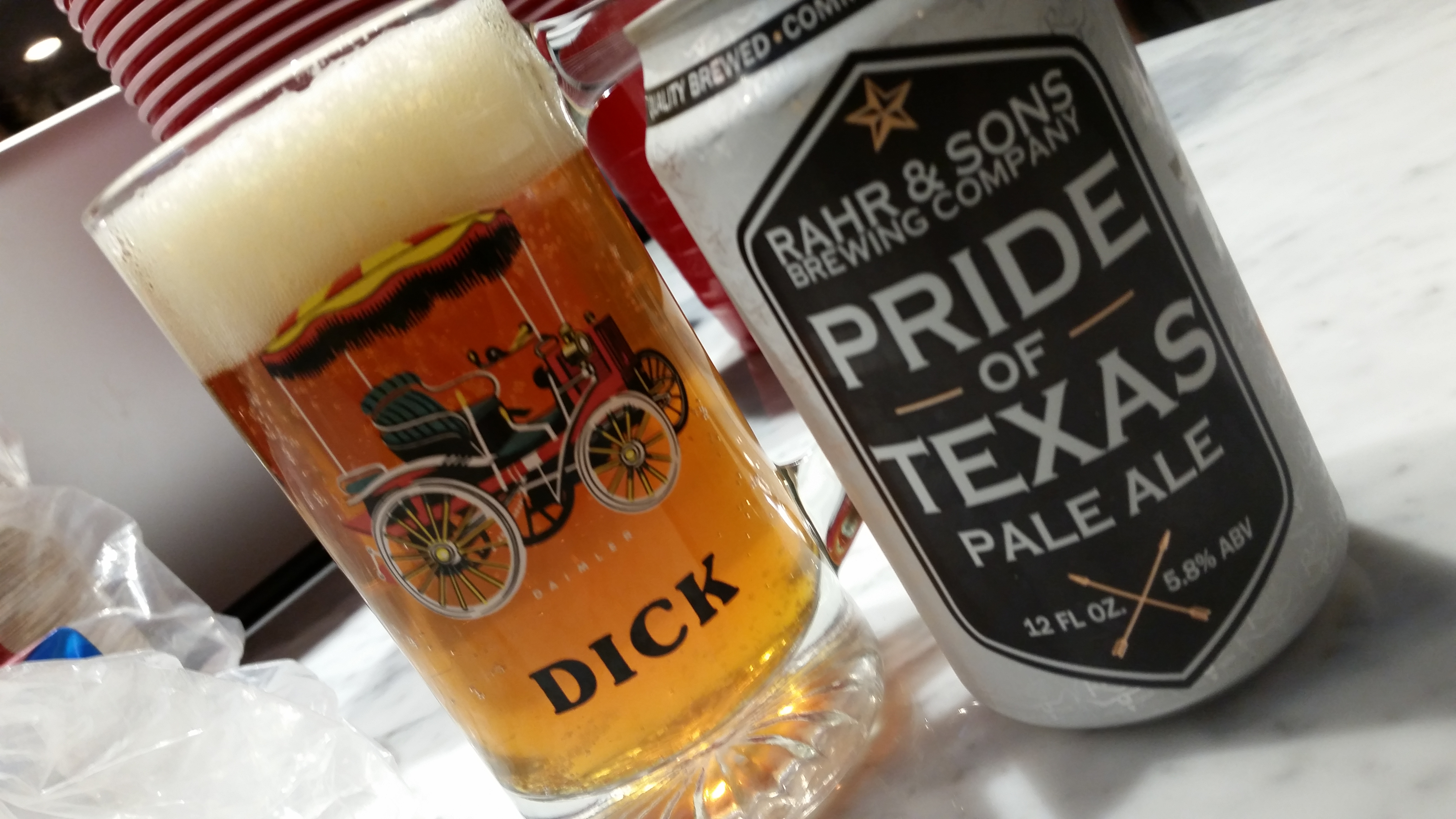 Rahr and Sons Pride of Texas Pale Ale