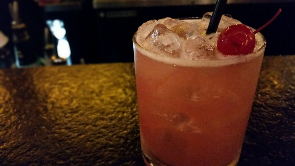 The Red Lotus: Deep Eddy Cranberry Vodka, SOHO Lychee Liqueur, pineapple juice, cranberry juice